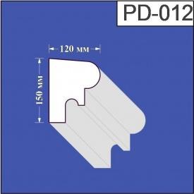 Подоконник из пенополистирола Валькирия 120х150 мм (PD 012)
