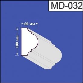 Молдинг из пенополистирола Валькирия 60х100 мм (MD 032)