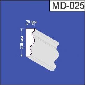 Молдинг из пенополистирола Валькирия 70х230 мм (MD 025)