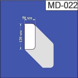 Молдинг из пенополистирола Валькирия 50х120 мм (MD 022)