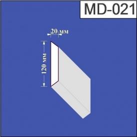 Молдинг из пенополистирола Валькирия 20х120 мм (MD 021)