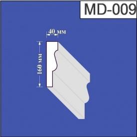 Молдинг из пенополистирола Валькирия 40х160 мм (MD 009)