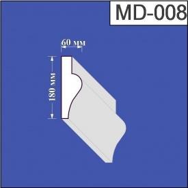 Молдинг из пенополистирола Валькирия 60х180 мм (MD 008)