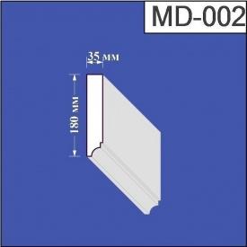 Молдинг из пенополистирола Валькирия 35х180 мм (MD 002)