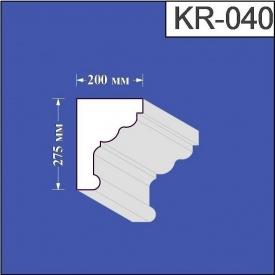 Карниз из пенополистирола Валькирия 200х275 мм (KR 040)