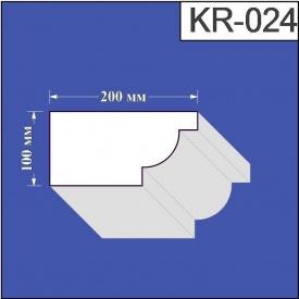 Карниз из пенополистирола Валькирия 200х100 мм (KR 024)