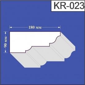 Карниз из пенополистирола Валькирия 180х90 мм (KR 023)