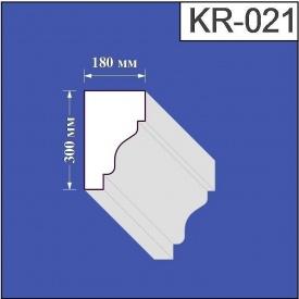 Карниз из пенополистирола Валькирия 180х300 мм (KR 021)