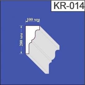 Карниз из пенополистирола Валькирия 100х200 мм (KR 014)