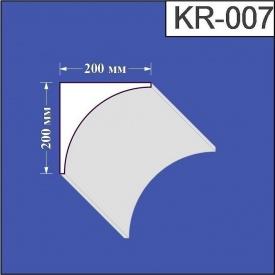 Карниз из пенополистирола Валькирия 200х200 мм (KR 007)