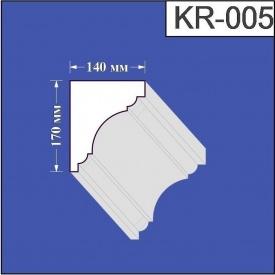 Карниз из пенополистирола Валькирия 140х170 мм (KR 005)