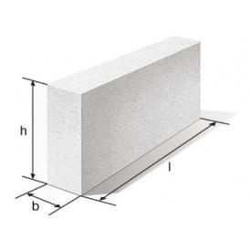 Блок перегородочный 100х200х600 мм