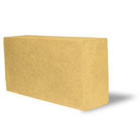 Кирпич силикатный полуторный 88х120х250 мм желтый