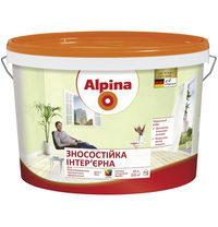 Интерьерная краска Alpina стойкая 5 л