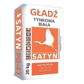 Шпаклевка финишная SATYN PG-41 20 кг белая