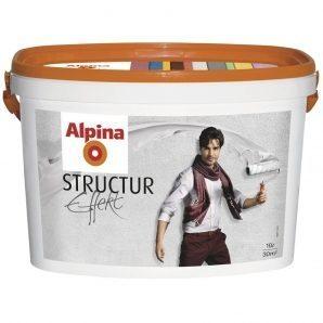 Краска Alpina Structur Effekt 5 л