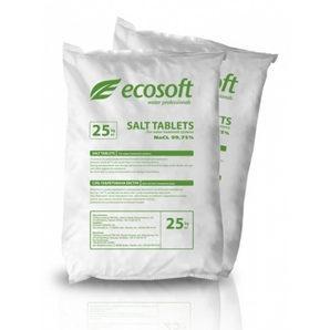 Таблетована сіль Ecosoft ECOSIL 25 кг