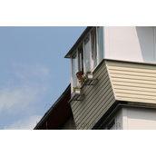 Шумоізоляція козирка балкона