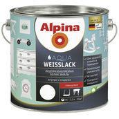 Эмаль Alpina Aqua Weisslack 0,75 л