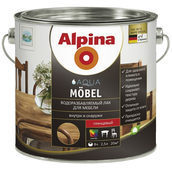 Лак Alpina Aqua Mоbel 0,75 л