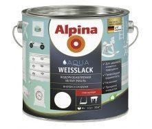 Эмаль Alpina Aqua Weisslack 2,5 л