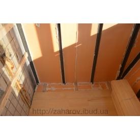 Утеплення балконів і лоджій пінополістиролом Стиродур