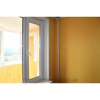 Откосы на металлопластиковые окна белые