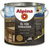 Лазур Alpina Оl fur Terrassen 2,5 л