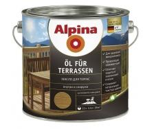 Лазурь Alpina Оl fur Terrassen 2,5 л