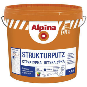 Структурная штукатурка Alpina EXPERT К15 16 кг