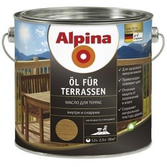 Лазурь Alpina Оl fur Terrassen 0,75 л