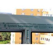Скління балкона профілем Salamander