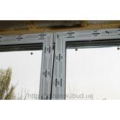 Скління балкона профілем ALMplast