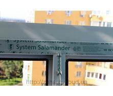 Остекление балкона профилем Salamander