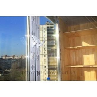 Полка для балкона деревянная