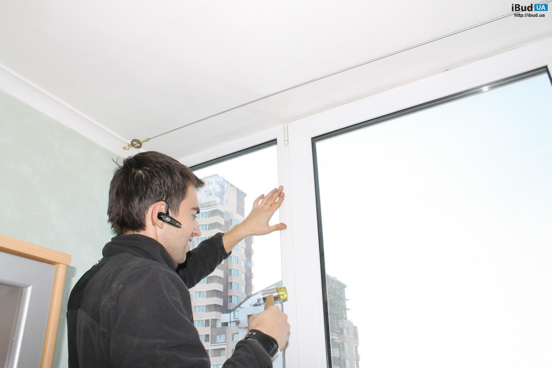 Переустановка стеклопакета пластикового окна