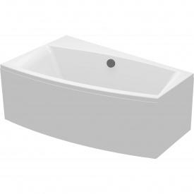Ванна ассиметричная с креплением левая Cersanit VIRGO 140х90 см (S301-070)