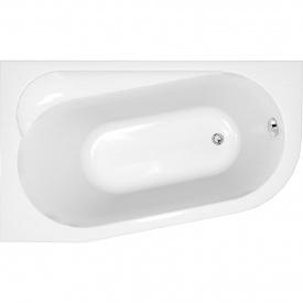 Ванна ассиметричная с креплением левая Cersanit ARIZA 160х90 см (S301-091)