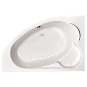 Ванна асиметрична права Cersanit KALIOPE 170х110 см (S301-115)