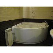 Установка ванной в доме