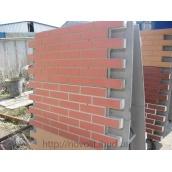 Фасадная термопанель Гладкая плитка 1000х500х50 мм бежевая