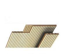 Акустичні панелі Topakustik 14/2M натуральний шпон венге 2780*128*17 мм