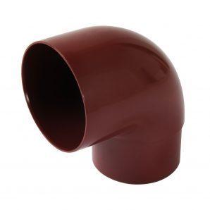 Відвід одномуфтовий 87 ° Nicoll 25 ПРЕМІУМ 80 мм червоний