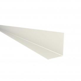 Фінішний профіль Nicoll BELRIV 4 м білий PC744