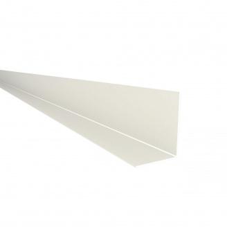 Фінішний профіль Nicoll BELRIV 4 м білий