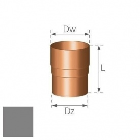 Кільцевий ніпель Gamrat 90 мм срібний