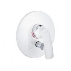 Встраиваемый смеситель для ванны и душа KLUDI BALANCE белый хром (526509175)