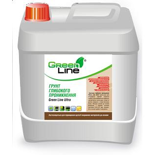 Грунтовка глубокого проникновения Green Line Ultra