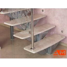 Оздоблення каркасних сходів