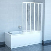 Пятиэлементная штора для ванны RAVAK VS5 1135x1330 мм белый (794E010041)